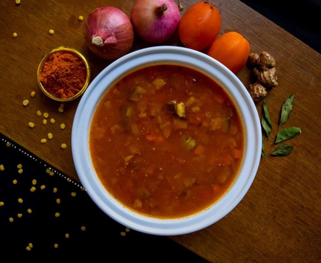 Instant One Pot Sambar – Easy & Quick Recipe