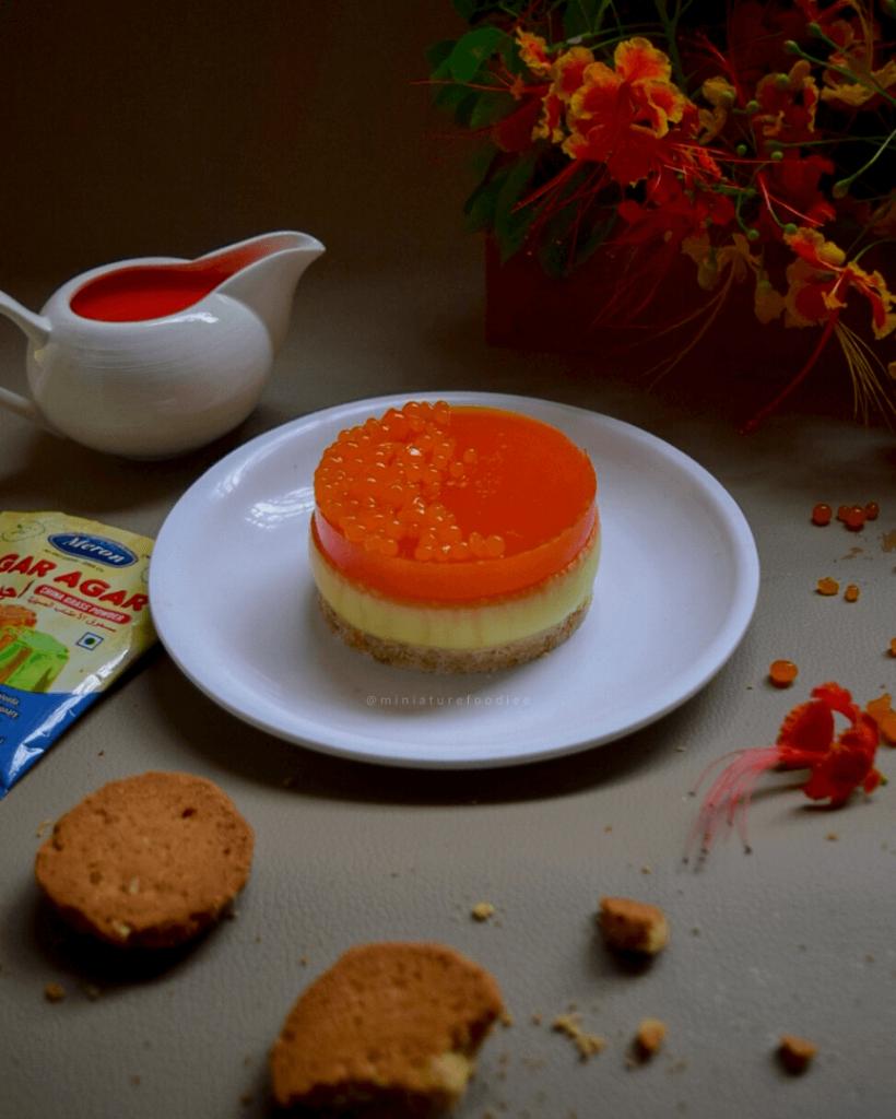 3 Layered Jelly Pudding using Meron Agar Agar Powder