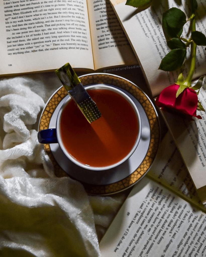 Rose Green Tea by Miniaturefoodie