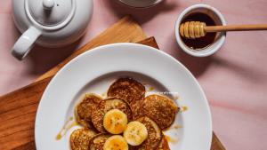 Eggless Banana Pancake by Ashita Agrawal - Miniaturefoodie