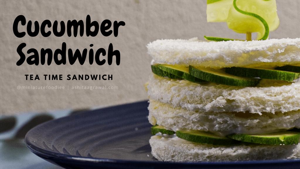 easy cucumber mayo cheese sandwich recipe