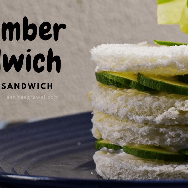 easy cucumber, mayo, cheese sandwich recipe