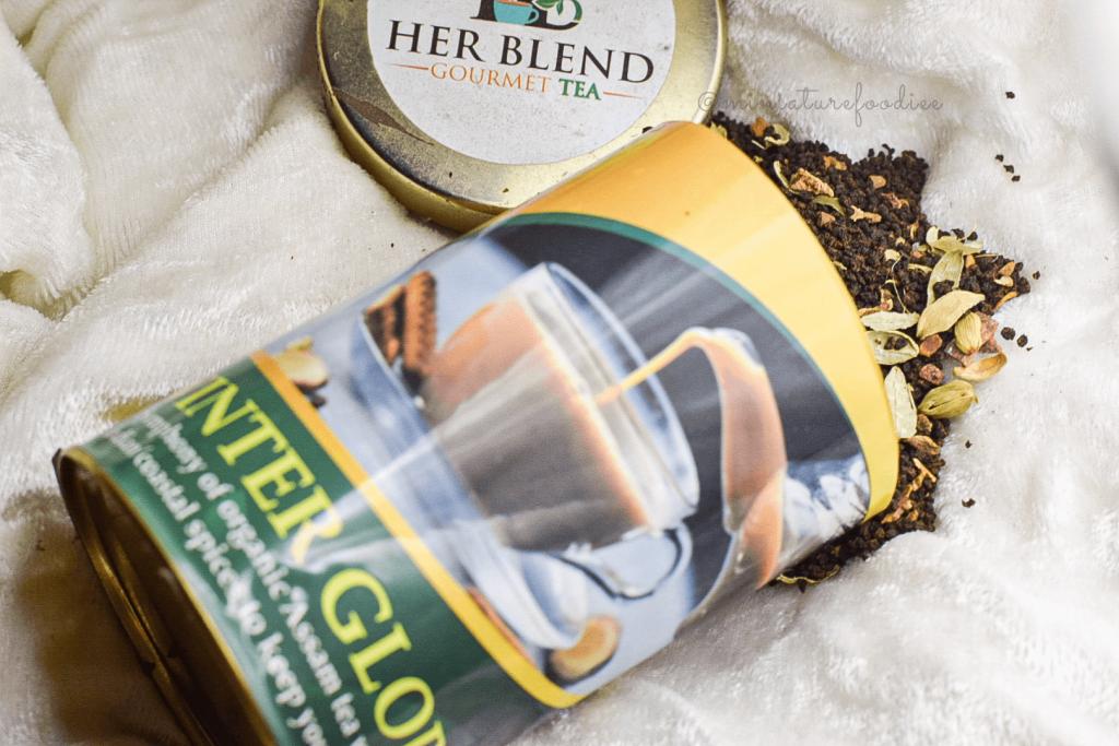 her blend tea winter glory review